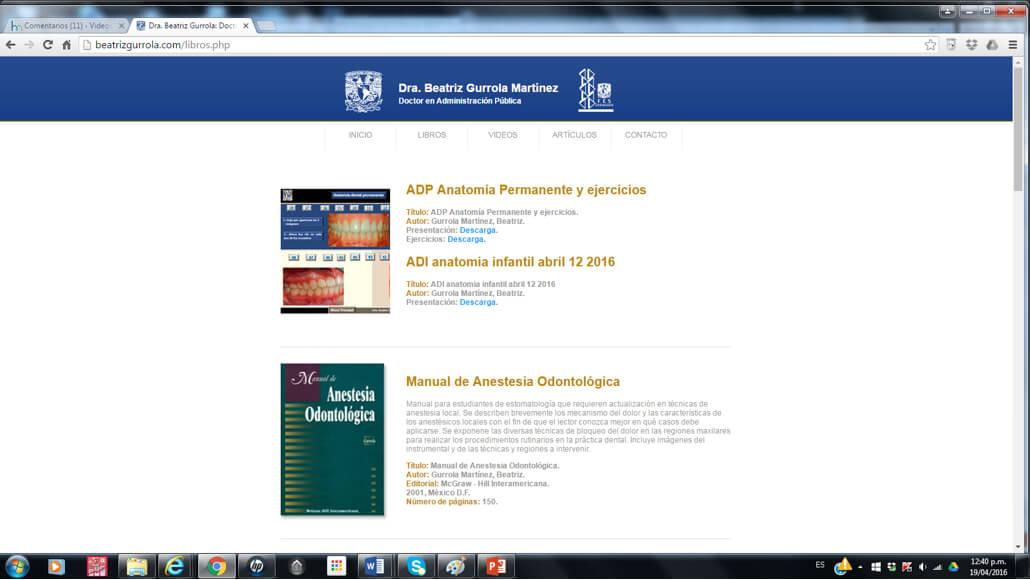 Fortalecimiento del aprendizaje en odontología, proyecto PAPIME ...